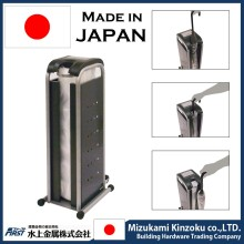 fashionable umbrella plastic bag dispenser at hotel, shopping mall etc. made in Japan