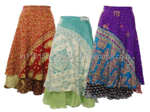 100% silk sari Collection bottoms