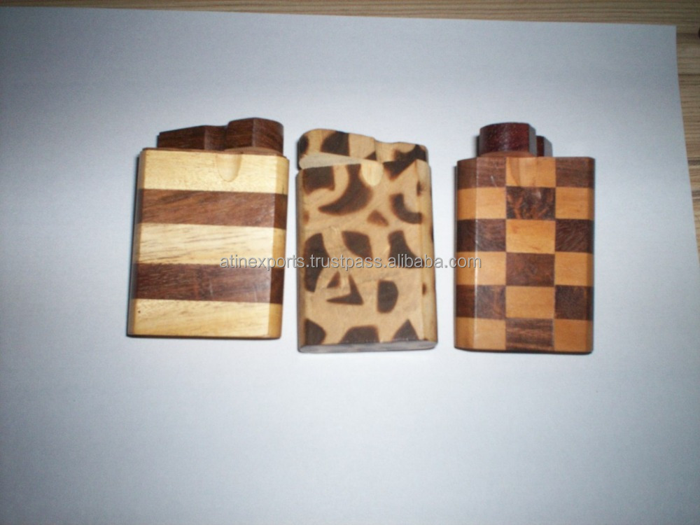 New Style Wooden cigarette Dugouts smoking 4 Inches manufacturer in India