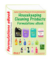 Formulations eBooks on housekeeping cleaning products (ebook5)