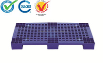 HDPE with iron core pallet P1-1, dim: 1000x600x83mm, Dynamic: 400kg, Static: 1000kg