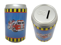 SAVING BANK TIN FIRE TRUCK, #23646T