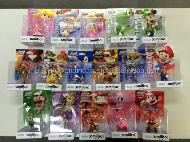 Character Amiibo figure for video game player with safe packing