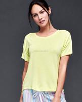 American apparel new style fashion women printing t shirt cheap wholesale