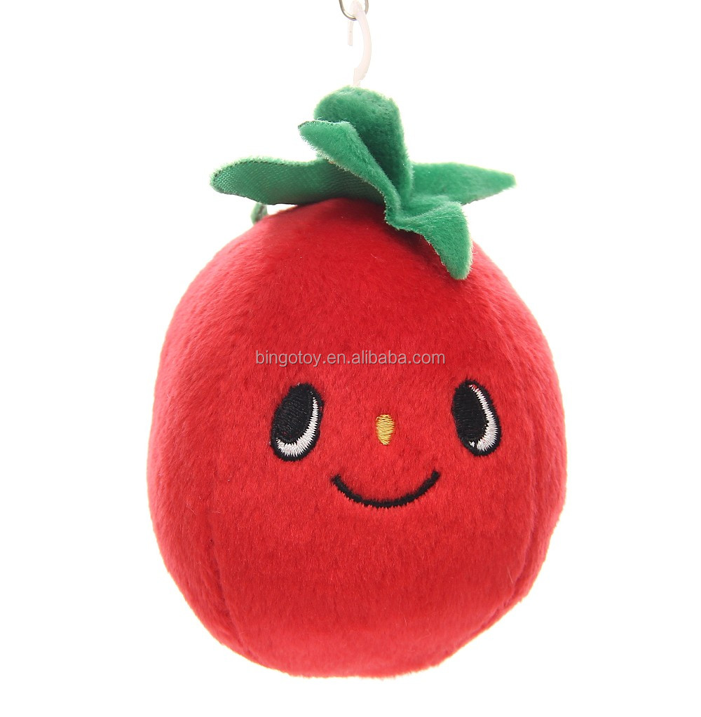 High Quality stuffed plush vegetables and fruits toys for child