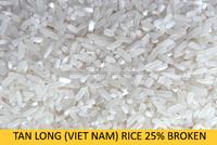 VIETNAM BEST PRICE LONG GRAIN 25% BROKEN RICE