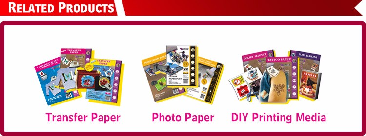 Top Selling High Quality Waterproof Double A4 Glossy Photo Paper