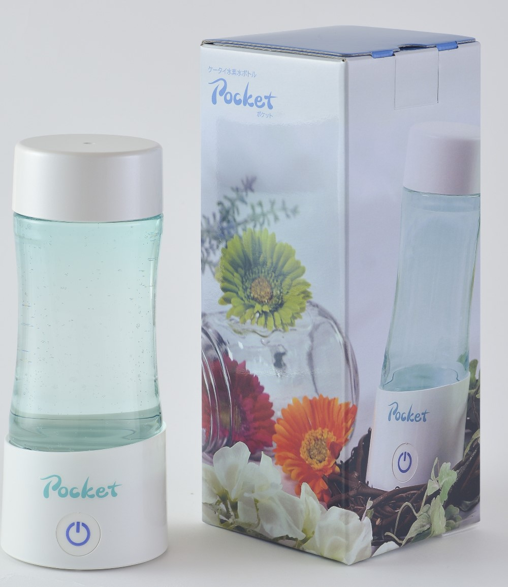 Hydrogen water bottle POCKET made in Japan , OEM available