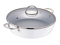Bergner Snow Forge Serving Pan with Lid 28 x 7.2 cm - Case of 4