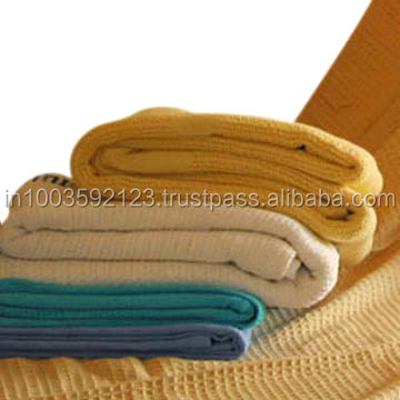 Warm and super soft rich wool Hospital blankets