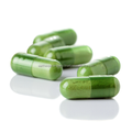 Wheat grass powder capsule
