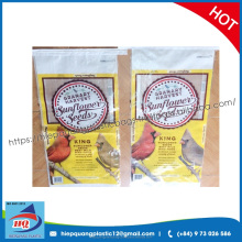 High quality pp woven laminated bird food bags/food packaging bag/bird bags