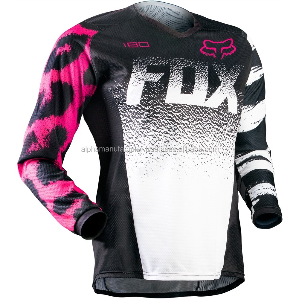 Ladies Camo Motocross Jerseys