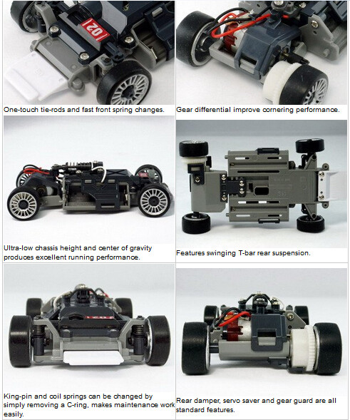 2017 new product IW04M race car games & rc car rc hobby compatiable with Kyosho MINIZ