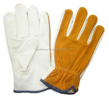 Safety equipment Cow grain working leather gloves truck driver gloves 1746