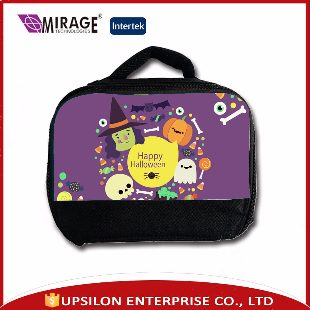 Cool Sublimation Custom Image Printed Thermal Lunch Bag