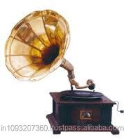 Doll house mini Gramophone for dollhouse decoration old-fashioned HC007