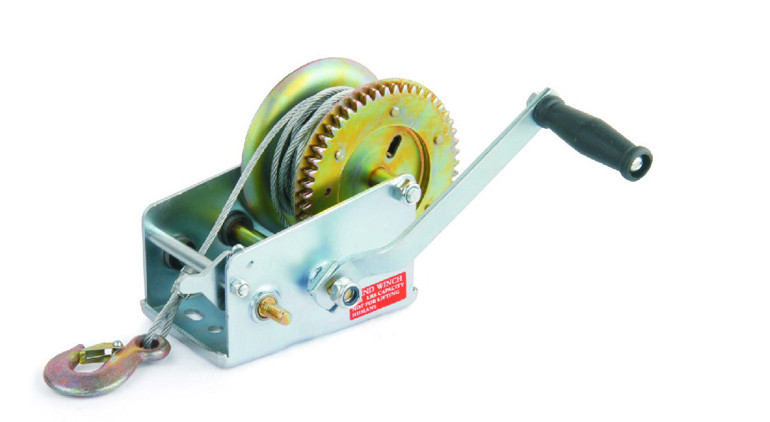 HAND WINCH FOR WOOD