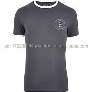 OEM service short sleeve screen printing cotton t shirt wholesale/printed t-shirt with low price