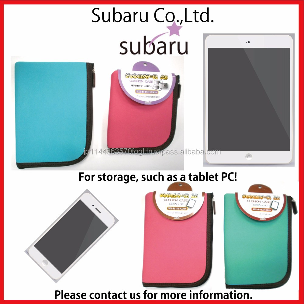 Fashionable and Reliable cushion case for tablet 7 inch with multiple functions