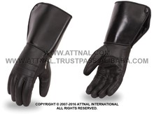 Men's/Women's Cold Weather High Performance Insulated Gauntlet Gloves with Reinforced Palm and Padded Knuckle