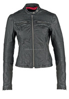Marc New York Leather Moto Jacket Quilting