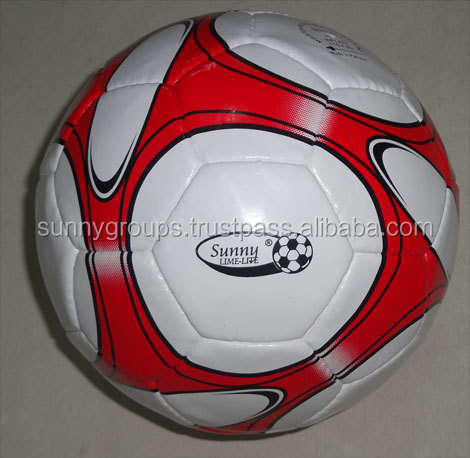top quality PVC machine stitched Football Soccer Balls