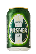 Harboe Lager / Pils Beer 24 x 330 ml / 33 cl can
