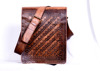 New fashion Stylish Brown Genuine Leather travel bag