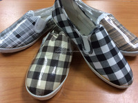CHECKERED DESIGN - SLIP ON SHOES FOR MEN AND WOMEN