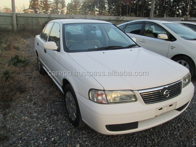 JAPANESE USED CARS FOR SALE FOR NISSAN SUNNY B15 2WD 1,300CC (ENGINE MODEL QG13-DE FF AT)