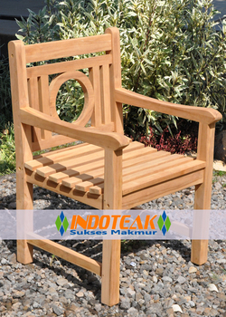 Leagrave Arm Chair - Teak Garden Furniture - Indonesia Manufacturer