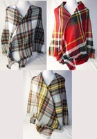 Wholesale Large Women's Wool Scarf Shawl Winter Warm Mixed Color