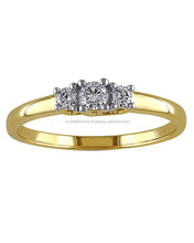 Gold Plated Diamond Sparkle Ring