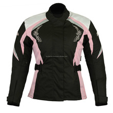 Women Motorcycle Motorbike Scooter Waterproof Textile Ladies cordura Jacket FC-10732