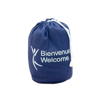 Perfect Quality Printing PP Non Woven Bag Blue Film