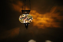 22236Lovely roof hanging mosaic lamp or pendant mosaic lamp