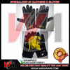 American Football Gloves With Customized Logo, Receiver American Gloves Custom Palm Logo
