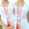 Mala Wooden Organic Natural With Glass