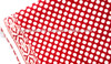 RTHCFC-23 White On Red Polka Dots 100% Cotton Fabric Wooden Block Printed Cotton Traditional Manufacturer Suppliers