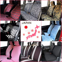 Durable functional cover to car seats for luxury cars with double-stitch sewing