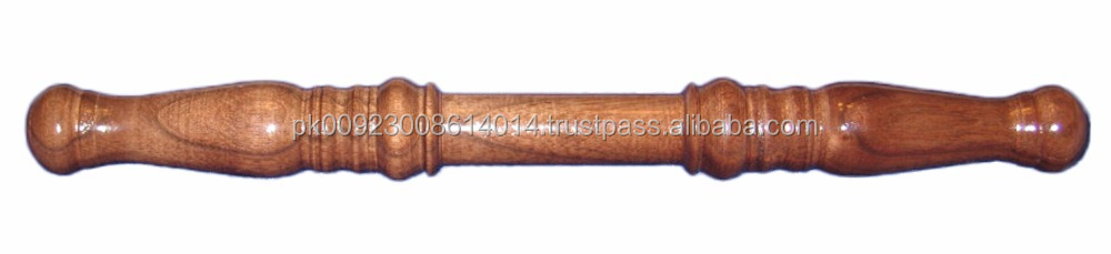 walnut wood masonic marshal baton