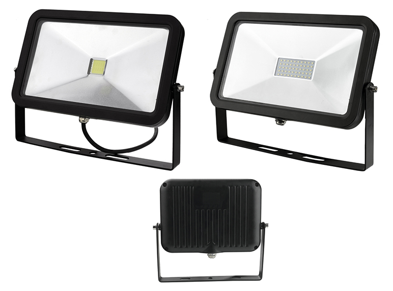 Singapore,50W Slim LED Flood Light in Aluminum,IP65,Built-in Driver,85-265V,SASO approved,3Years warranty