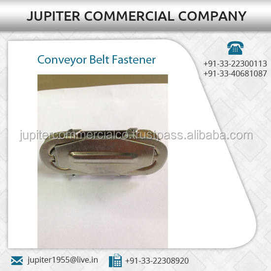 Export Quality High Viscosity Conveyor Belt Fasteners for Industrial Use