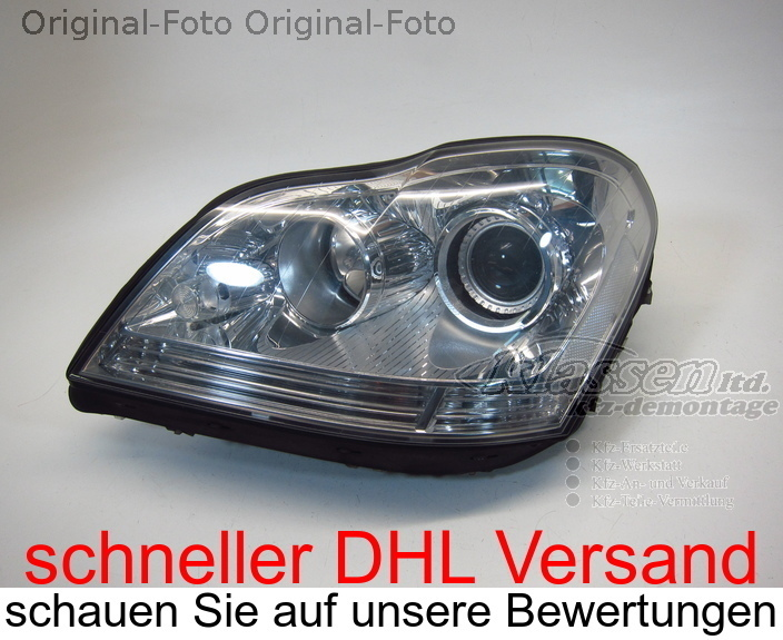 headlight left for Mercedes Benz GL-KLASSE X164 GL 09.06- Xenon