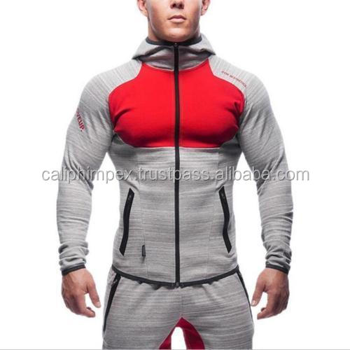 Sports Muscle Men's Tight GYM Fitness Set Workout Tracksuit Hoodie Bottoms Pants