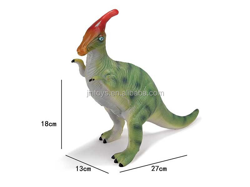 Juguetes al por mayor 2017 new toy soft dinosaur pvc toy rubber dinosaur Lexus dragon toy