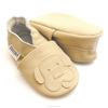 soft sole baby shoes leather dog beige 18 24 ebooba