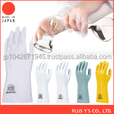 Solvent-resistant DMF & NMP silicon glove gloves winter
