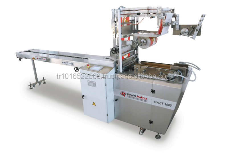 Overwrapping Packaging Machine (biscuit, wafer, soap, rice cake, corn crisps etc.)